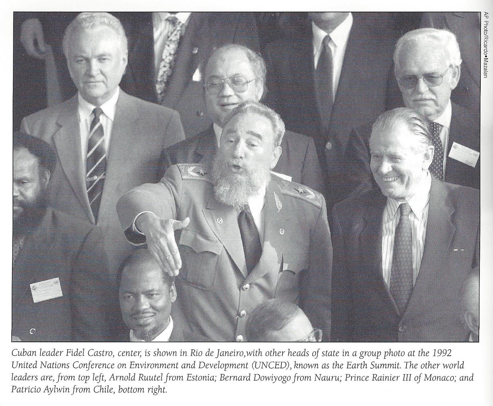 fidel-castro-at-earth-summit-1992